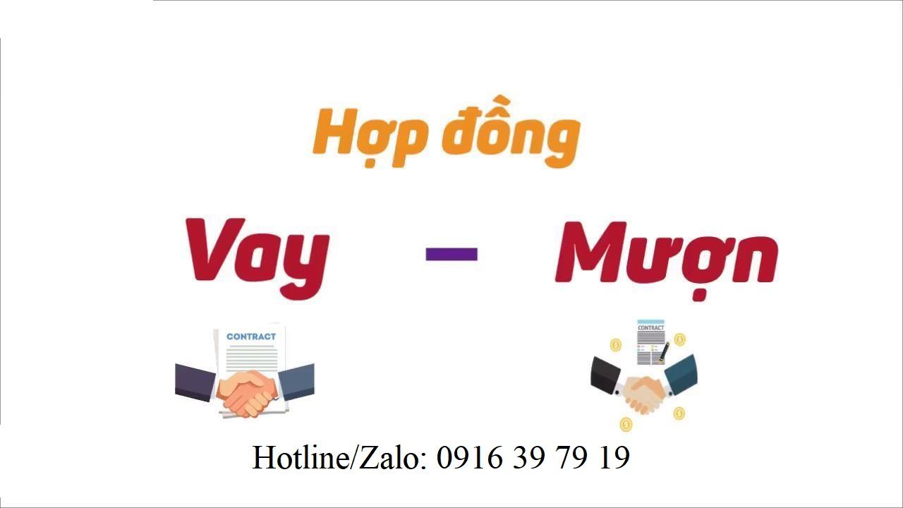 Hop dong muon tai san 1 - Tranh chấp hợp đồng mượn tài sản