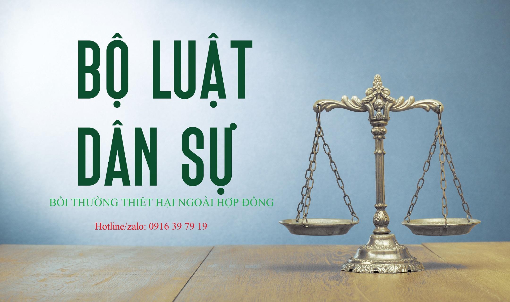 boi thuong thiet hai ngoai hop dong - Bồi thường thiệt hại ngoài hợp đồng