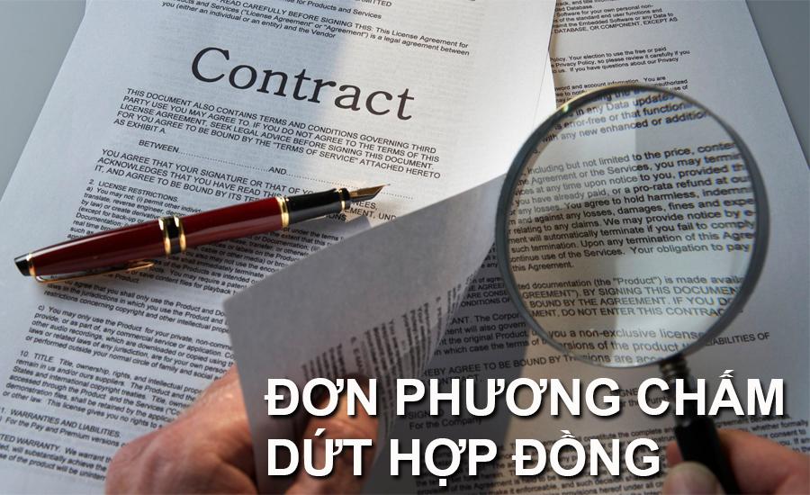cham dut hop dong trai luat 1 - Thủ tục chấm dứt hợp đồng lao động của người sử dụng lao động