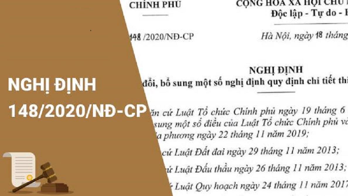 nghi dinh 148 - Điểm mới của Nghị định 148/2020/NĐ-CP hướng dẫn Luật đất đai