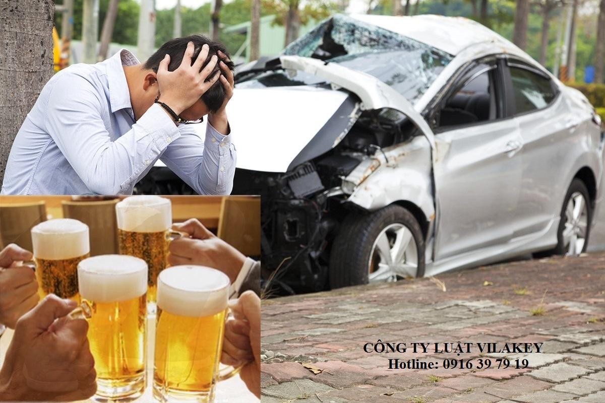 gay tai nan khi say ruou bia - Gây tai nạn khi say rượu, bia phạt như thế nào?